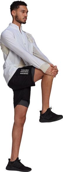 Primeblue half-zip løbejakke