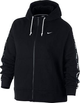 Nike Sportswear Hoodie (Plus Size) Damer Sort