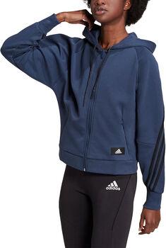 adidas Sportswear Wrapped 3-Stripes hættetrøje Damer