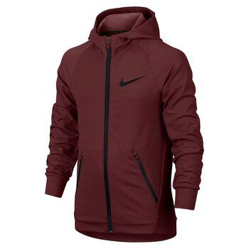 Nike Dry Training Hoodie Rød