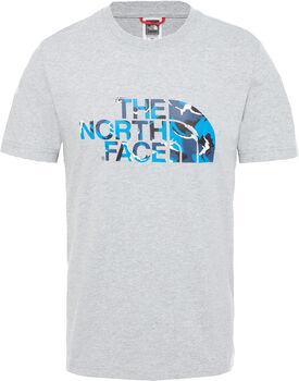 The North Face Extent II Logo Tee Herrer
