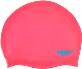 Speedo Jr. Plain Moulded Silicone Badehætte