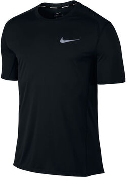 Nike Dry Miler Running Top Herrer Sort