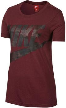 Nike Sportswear Tee Glacier Damer Rød