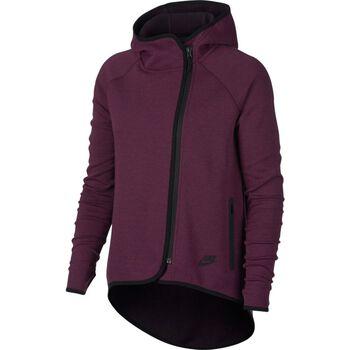 Nike Sportswear Tech Fleece Cape Damer Rød