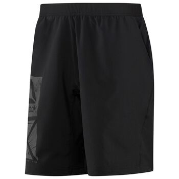 Reebok Graphic Speed Shorts Herrer Sort