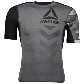 Reebok Activehill Graphic Compression T-shirt Herrer Grå