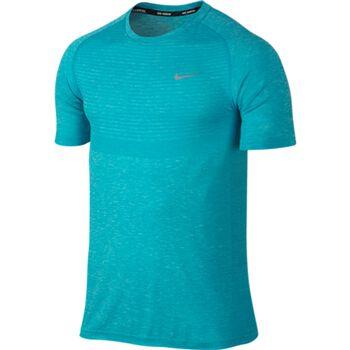 Nike Dri-Fit Knit SS Mænd Blå