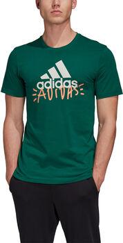 ADIDAS Doodle Basic Badge Of Sport T-shirt Herrer