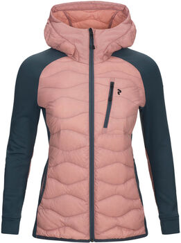 Peak Performance Helium Hybrid Hooded Jacket Damer