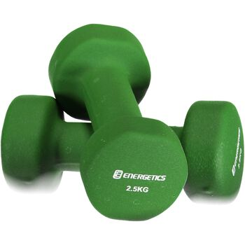 ENERGETICS Neoprene Dumbbells Grøn