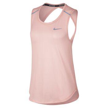 Nike Breathe Run Tank Damer Pink