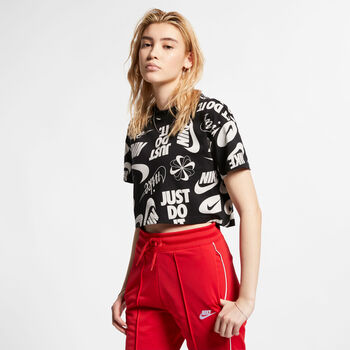 Nike Sportswear Essential Cropped T-shirt Damer