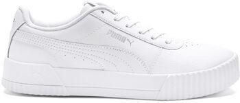 Puma Carina Leather sneakers Damer Hvid