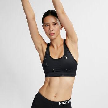 Nike Swoosh Print Bra Damer
