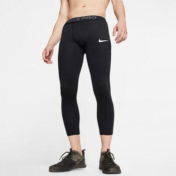 Nike Pro 3/4 Tights Herrer Sort