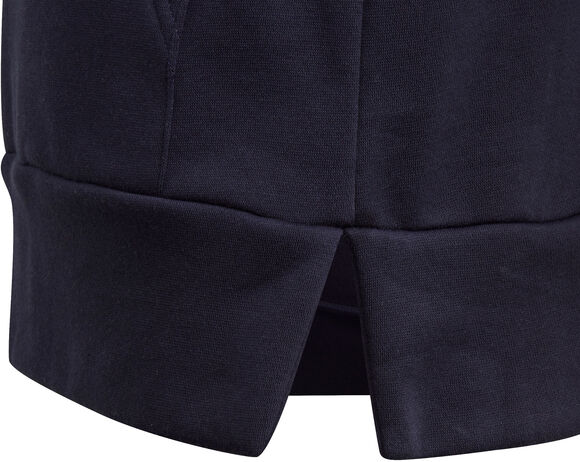 Linear Colourblock Fleece Hættetrøje