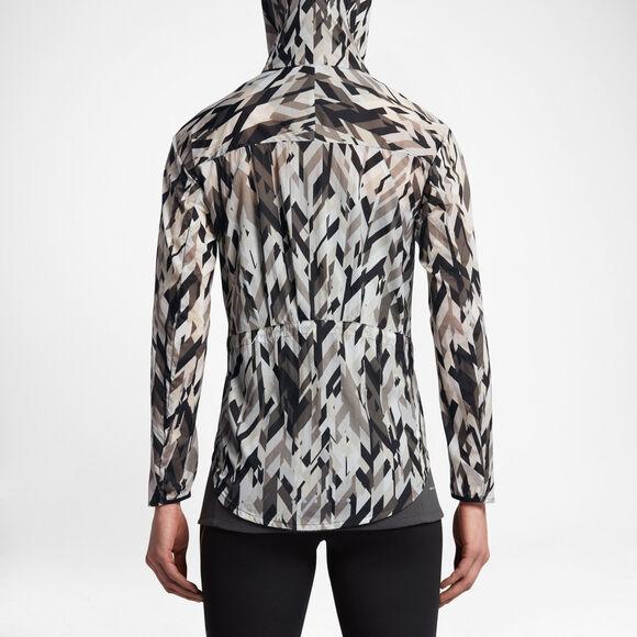 Impossbily Lightt Jacket Hood Print