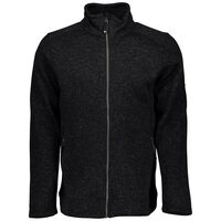 Mckinley Rubin Knit Fleece Jacket - Mænd Sort