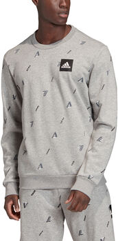 ADIDAS Must Haves Graphic Crew Sweatshirt Herrer