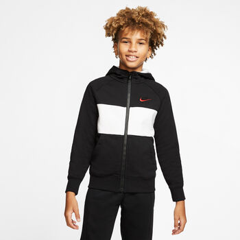 Nike Air Full-Zip Hættetrøje Sort