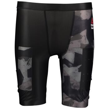 Reebok Crossfit Compression Short Herrer Multifarvet