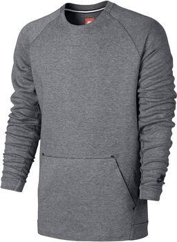 Nike Sportswear Tech Fleece Crew LS Herrer Grå