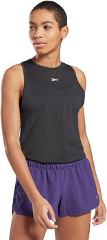 Reebok United By Fitness Perforated top Damer