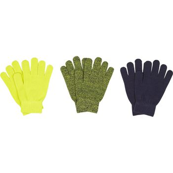 McKINLEY 3 Pack Magic Glove Grøn