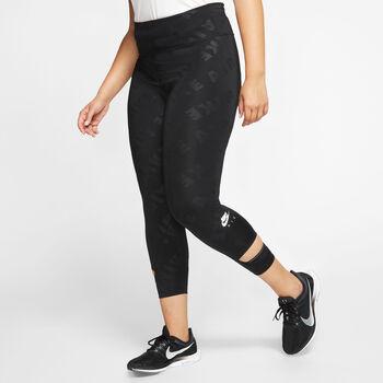 Nike Air 7/8 Tights (Plus Size) Damer Sort