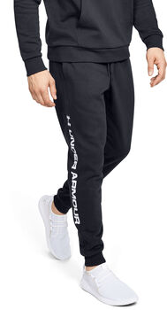 Under Armour Rival Fleece Logo Joggers Herrer Sort