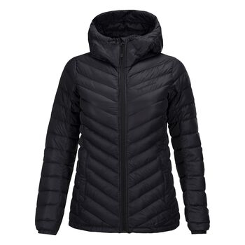 Peak Performance Frost Down Hooded Jacket Damer Sort