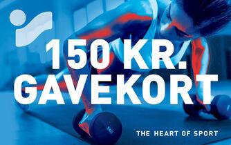 Intersport Gavekort 150kr.