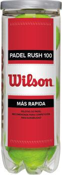 Wilson Rush 100 Padel bolde, 3 stk