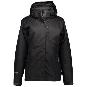 H2O Anne 3-In-1 Jacket Kvinder Sort