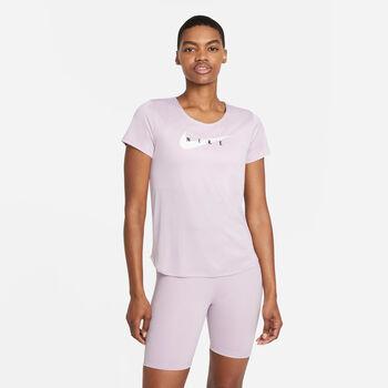 Nike Swoosh Run T-shirt Damer Pink