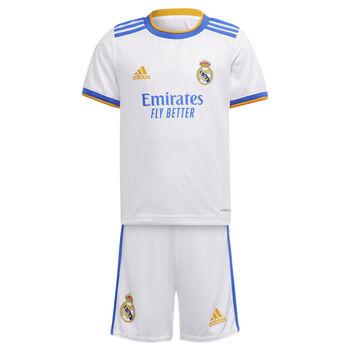 adidas Real Madrid 21/22 hjemmebanesæt, mini