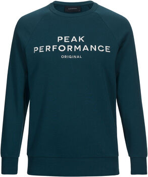 Peak Performance Logo Sweatshirt Herrer