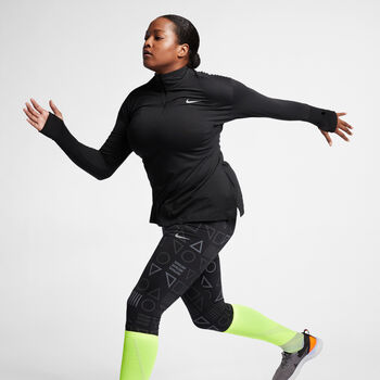 Nike Element Løbetrøje (Plus Size) Damer