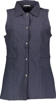 Carite Waistcoat vest Damer Blå