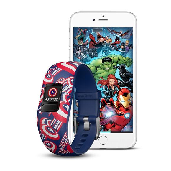 Vivofit Jr. 2, Marvel, Captain America