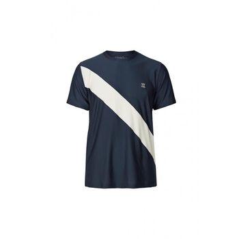 Les Deux Athletics Oslo T-shirt Herrer Blå
