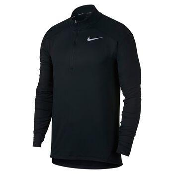 Nike Dry Running Top Herrer Sort