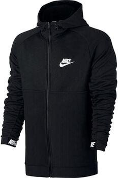 Nike NSW Advance 15 Hoodie FZ Fleece Mænd Sort