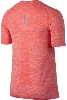 Nike Dri-Fit Knit Running Top Herrer Orange