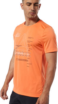 Reebok Workout Ready Graphic Tee Herrer