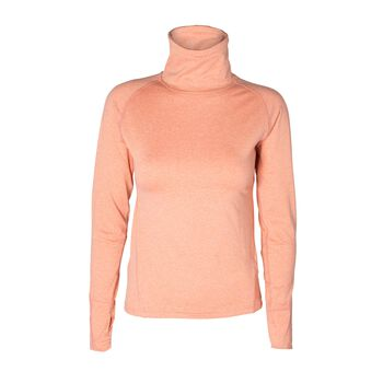 Les Deux Athletics Run Midlayer Turtleneck Damer Pink
