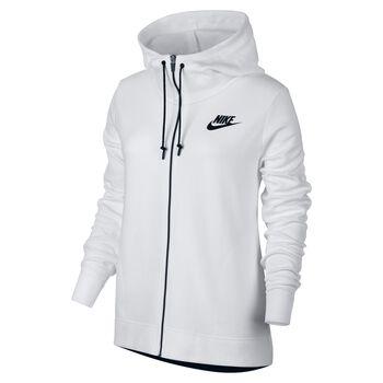 Nike Sportswear Advance 15 Hoodie Damer Hvid