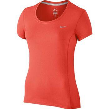 Nike Dri-Fit Contour SS Kvinder Orange