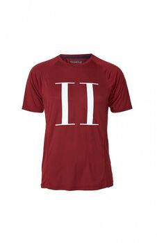 Les Deux Athletics Run Logo T-Shirt Herrer Rød